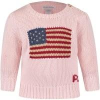 Picture of Ralph Lauren 310668609 baby sweater light pink