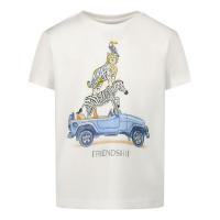 Afbeelding van Mayoral 1002 baby t-shirt wit