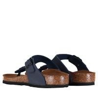 Picture of Birkenstock 345443 kids flipflops navy