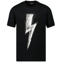 Afbeelding van Neil Barrett 20617 kinder t-shirt zwart