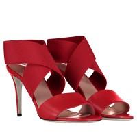 Afbeelding van Pollini SA16778AC07 dames sandalen rood