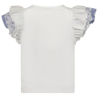 Afbeelding van MonnaLisa 117616A8 kinder t-shirt wit