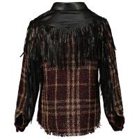 Afbeelding van Jacky Girls JG210901 kinder overhemd bordeaux