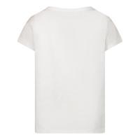 Afbeelding van Kenzo K05043 baby t-shirt wit/roze