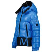 Afbeelding van Moncler 1A55Q20 kinderjas cobalt blauw