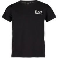Afbeelding van EA7 6ZBT58 kinder t-shirt zwart