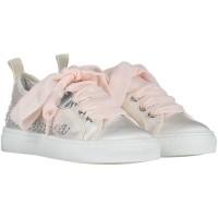 Afbeelding van MonnaLisa 871008 kindersneakers licht roze
