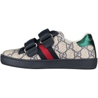 Picture of Gucci 463090 kids sneaker blue