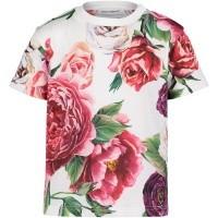 Afbeelding van Dolce & Gabbana L2JTAZ G7ORZ baby shirt donker roze