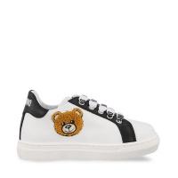 Afbeelding van Moschino 67389 kindersneakers zwart/wit