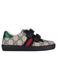 Afbeelding van Gucci 463088 kindersneakers blauw