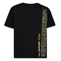 Afbeelding van Versace YB000062 baby t-shirt zwart