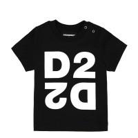 Afbeelding van Dsquared2 DQ044H baby t-shirt zwart