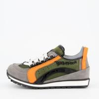 Afbeelding van Dsquared2 62274 kindersneakers groen/oranje