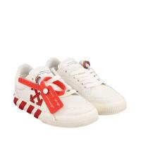 Afbeelding van Off-White OGIA001F21FAB0010125 kindersneakers wit/rood