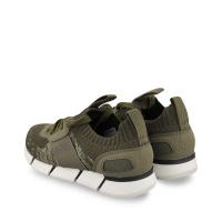 Afbeelding van Boss J29252 kindersneakers army