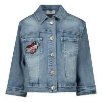 Afbeelding van MonnaLisa 195110RF kinderjas jeans