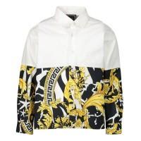 Afbeelding van Versace YB000042 baby blouse zwart/goud