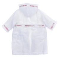 Afbeelding van MonnaLisa L95047 kinder badjas wit