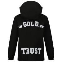 Afbeelding van in Gold We Trust THE UMBRELLA kinderjas zwart