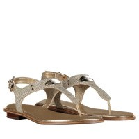 Picture of Michael Kors 40R8MKFA1D womens sandals gold