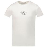 Afbeelding van Calvin Klein IG0IG01033 kinder t-shirt wit