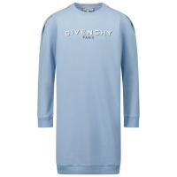 Afbeelding van Givenchy H12167 kinderjurk licht blauw