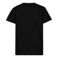 Afbeelding van Moschino MUM02G baby t-shirt zwart