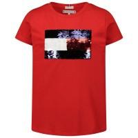 Afbeelding van Tommy Hilfiger KG0KG05251 kinder t-shirt rood