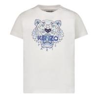 Afbeelding van Kenzo K05050 baby t-shirt wit