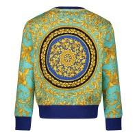 Afbeelding van Versace YB000075 baby trui blauw