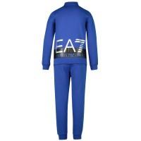 Afbeelding van EA7 6GBV53 kinder joggingpak cobalt blauw