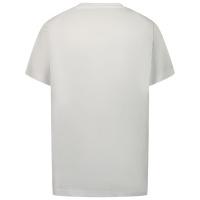 Afbeelding van Dsquared2 DQ0192 kinder t-shirt wit