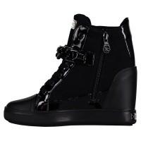 Afbeelding van Guess FLFL34ESU12 dames sneakers zwart