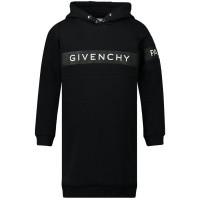 Afbeelding van Givenchy H12103 kinderjurk zwart
