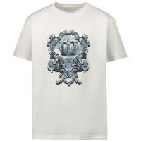 Afbeelding van Dolce & Gabbana L4JT8A G7YBK kinder t-shirt wit