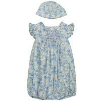 Afbeelding van Ralph Lauren 310784620 baby jumpsuit blauw
