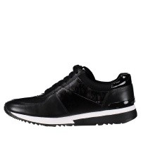 Afbeelding van Michael Kors 43T8ALFS1A dames sneakers zwart