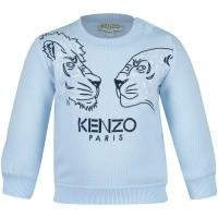 Afbeelding van Kenzo KM15537 baby trui licht blauw