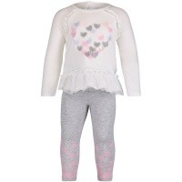 Afbeelding van Guess A84G21 babysetje off white