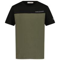 Afbeelding van Calvin Klein IB0IB00998 kinder t-shirt zwart/army
