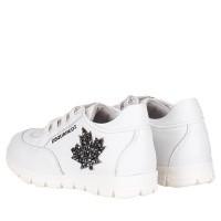 Afbeelding van Dsquared2 59692 GLITTER kindersneakers wit