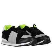 Afbeelding van Boss J29168 kindersneakers zwart