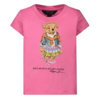 Afbeelding van Ralph Lauren 790408 kinder t-shirt fuchsia