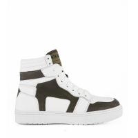 Afbeelding van NIK&NIK O905921057001 kindersneakers wit/army