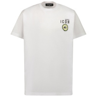 Afbeelding van Dsquared2 DQ0340 kinder t-shirt wit