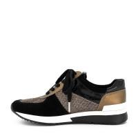 Afbeelding van Michael Kors 43F9ALFS3D736 dames sneakers zwart