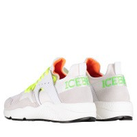 Picture of Iceberg 1053 mens sneakers white