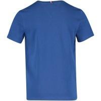 Picture of Tommy Hilfiger KB0KB04678 kids t-shirt cobalt blue