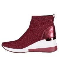 Afbeelding van Michael Kors 43F8SKFE8D dames sneakers bordeaux